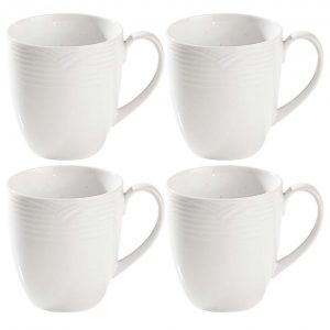 Arctic White Large Mug Set of 4