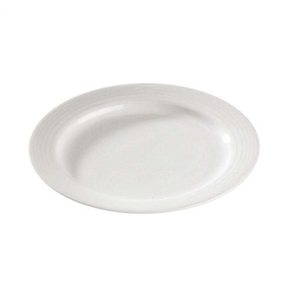 Arctic White B&B Plate