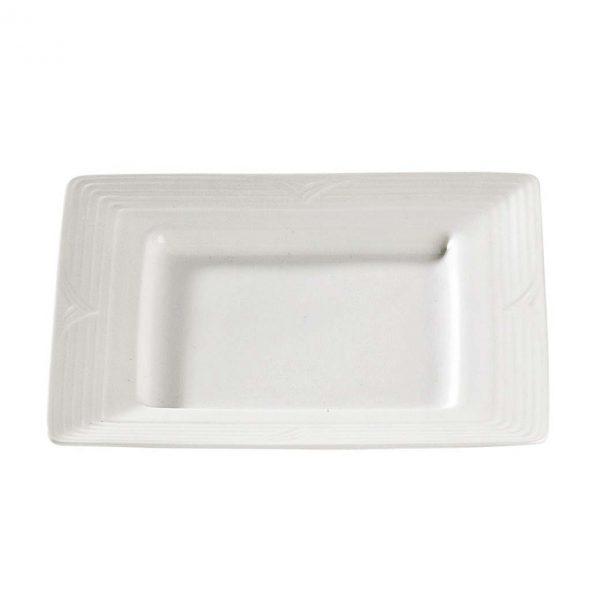 Arctic White Square Plate S