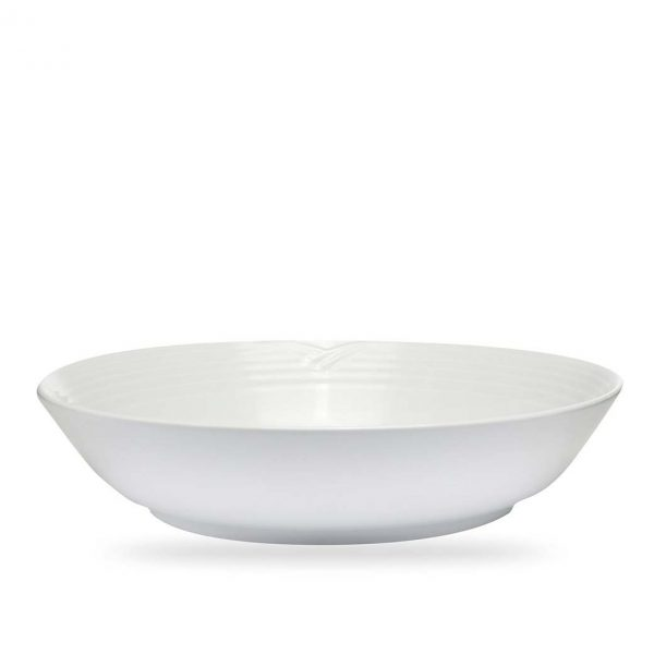 Arctic White Pasta Serving Bowl