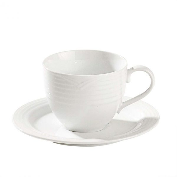 Arctic White AD Cup and Saucer Set