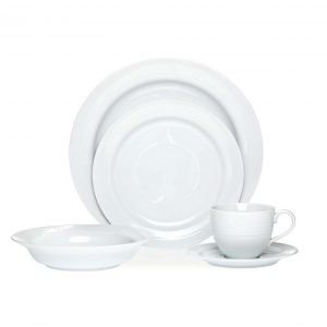 Arctic White 20pce Dinner Set