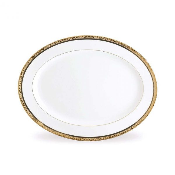 Regent Gold Oval Platter
