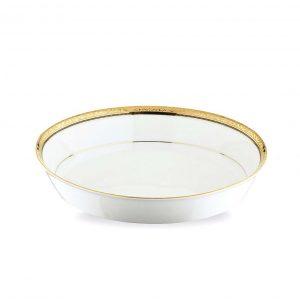 Regent Gold Oval Serving Bowl