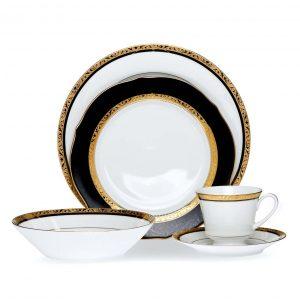 Regent Gold 20pce Dinner Set