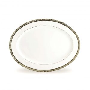 Regent Platinum Oval Platter