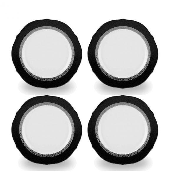 Regent Platinum Accent Plate Set of 4