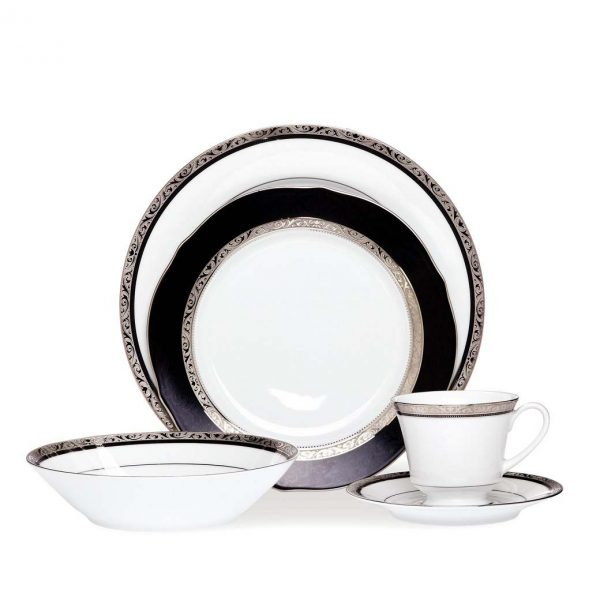 Regent Platinum 20pce Dinner Set