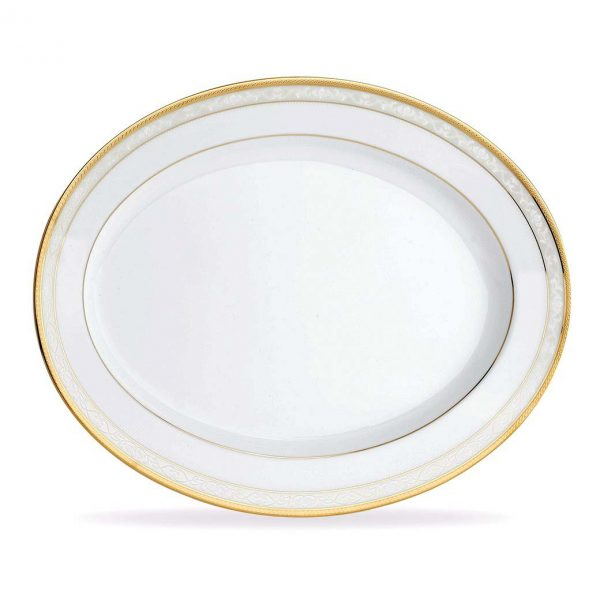 Hampshire Gold Oval Platter