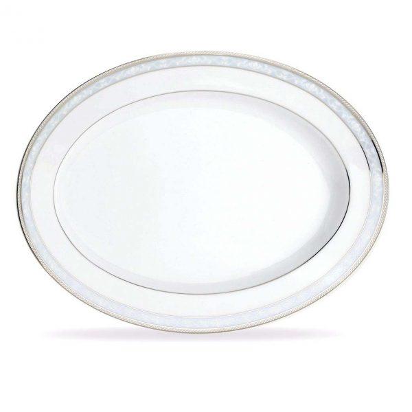Hampshire Platinum Oval Platter