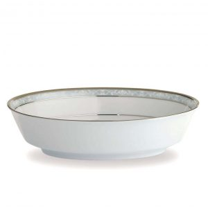 Hampshire Platinum Oval Serving Bowl