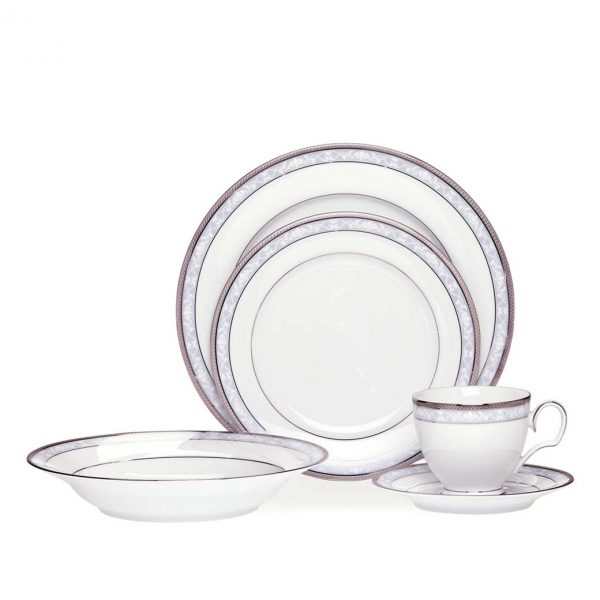 Hampshire Platinum 20pce Dinner Set