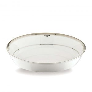 Buckingham Platinum Oval Serving Bowl