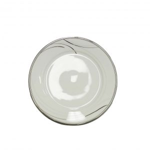 Platinum Breeze Dinner Plate