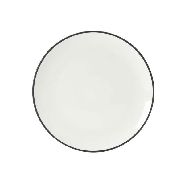 Colorwave Graphite Coupe Salad Plate