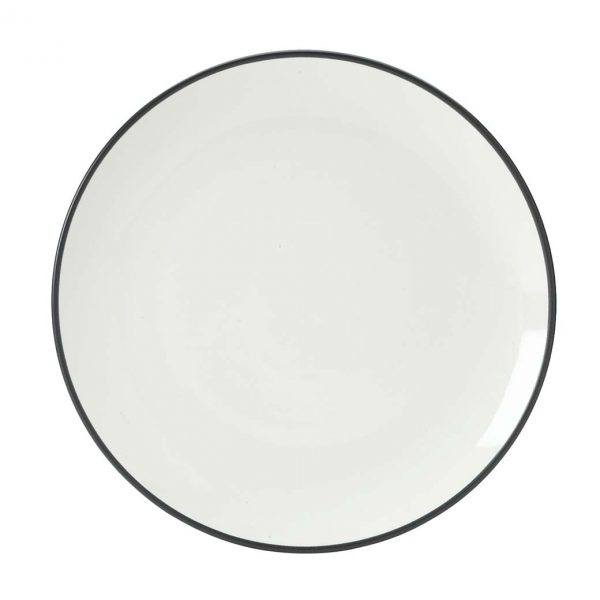 Colorwave Graphite Coupe Dinner Plate
