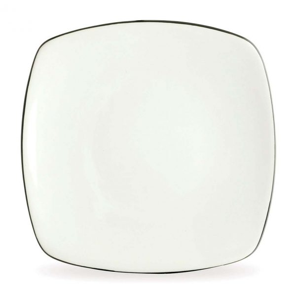 Colorwave Graphite Square Dinner Plate