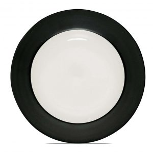 Colorwave Graphite Rim Salad Plate