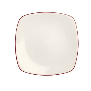 Colorwave Raspberry Square Dinner Plate