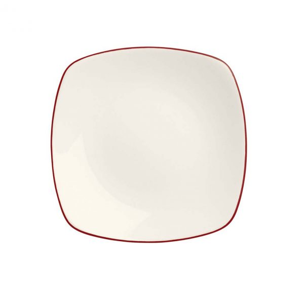 Colorwave Raspberry Square Salad Plate