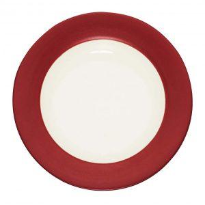 Colorwave Raspberry Rim Salad Plate