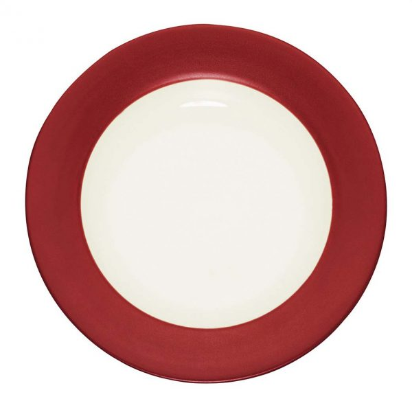 Colorwave Raspberry Rim Salad Plate