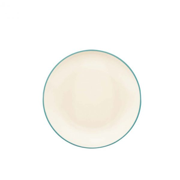 Colorwave Turquoise Coupe Salad Plate