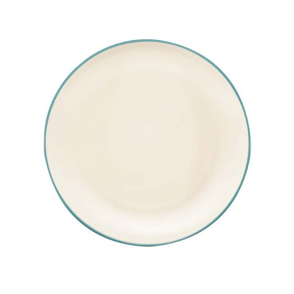 Colorwave Turquoise Coupe Dinner Plate