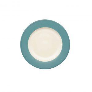Colorwave Turquoise Rim Salad Plate
