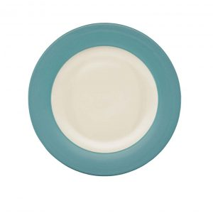 Colorwave Turquoise Rim Dinner Plate