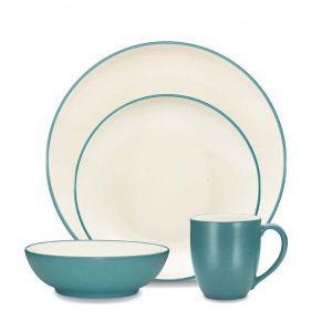 Colorwave Turquoise 16pce Dinner Set