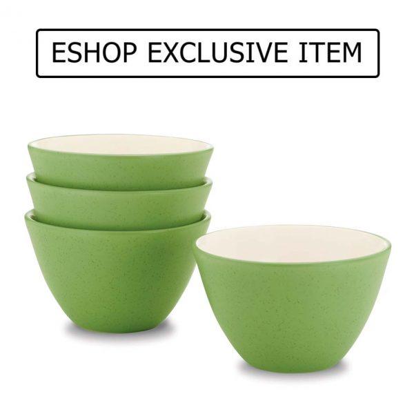 Colorwave Apple Green Mini Bowl Set of 4
