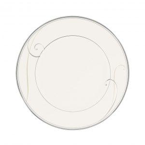 Platinum Wave Entree Plate