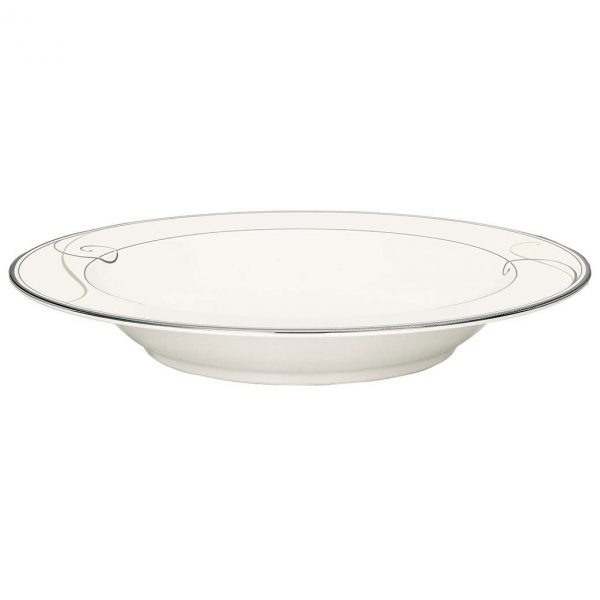 Platinum Wave Soup Plate