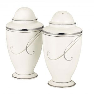 Platinum Wave Salt & Pepper Shaker