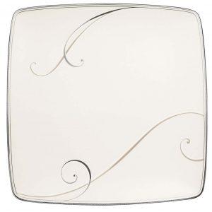 Platinum Wave Square Plate L