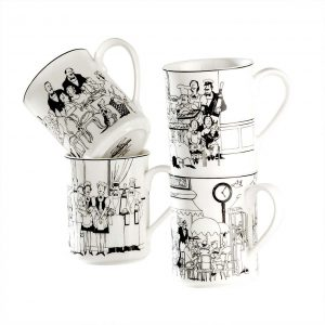 Le Restaurant Mug Set of 4