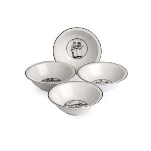 Le Restaurant Cereal Bowl Set of 4
