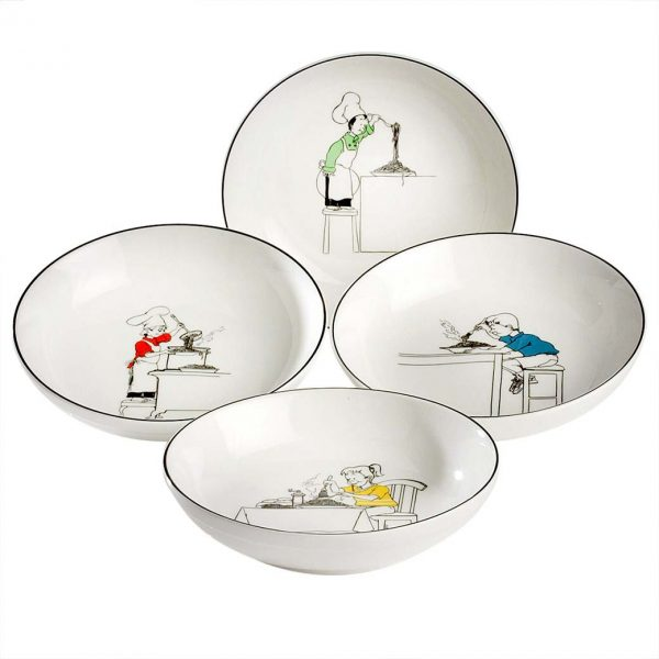 Le Restaurant Pasta Bowl Set of 4