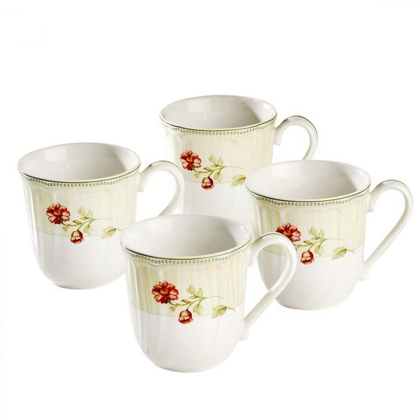Fleur de Provence Mug Set of 4