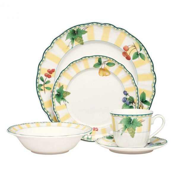 Orchard Valley 20pce Dinner Set