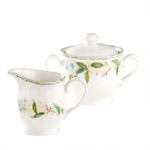 Floral Bay Sugar & Creamer Set