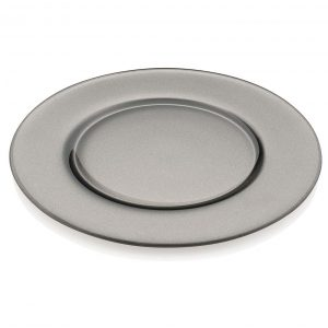 Aria Grey Charger Plate