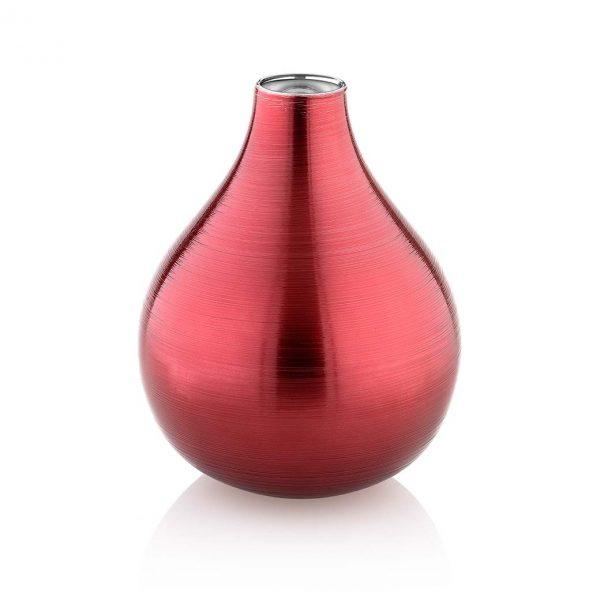 Bombay Vase Red