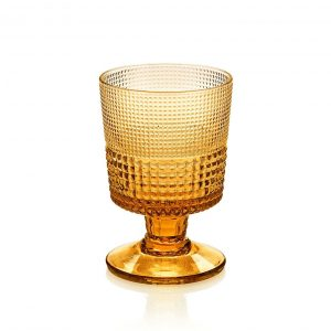 Speedy Amber Goblet Set of 6