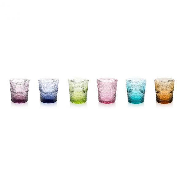 Speedy Tumblers Set of 6 assorted colours