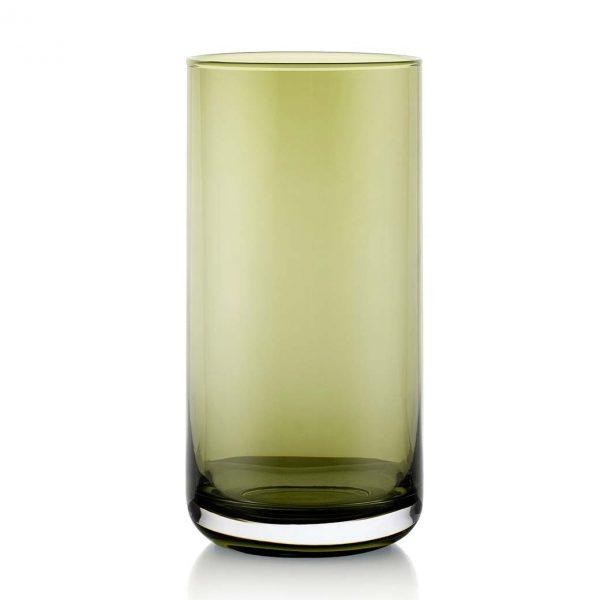 Lounge Bar Green 420ml Glass Set of 6