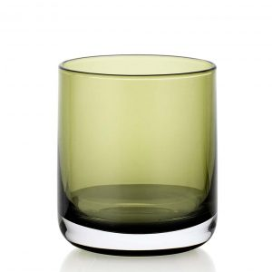 Lounge Bar Green 380ml Glass Set of 6