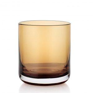 Lounge Bar Amber 290ml Glass Set of 6