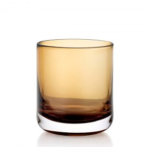 Lounge Bar Amber 200ml Glass Set of 6